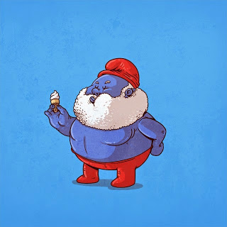Caricaturas de Superheroes GORDOS 13