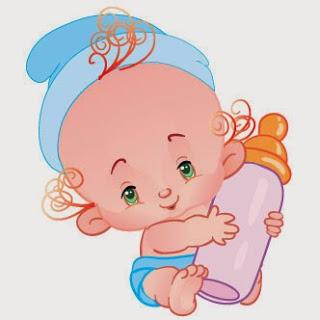 Caricaturas para baby shower 4