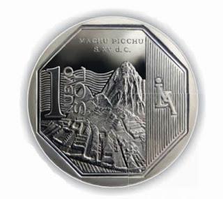 Imagenes nueva moneda de 1 sol peruano 4
