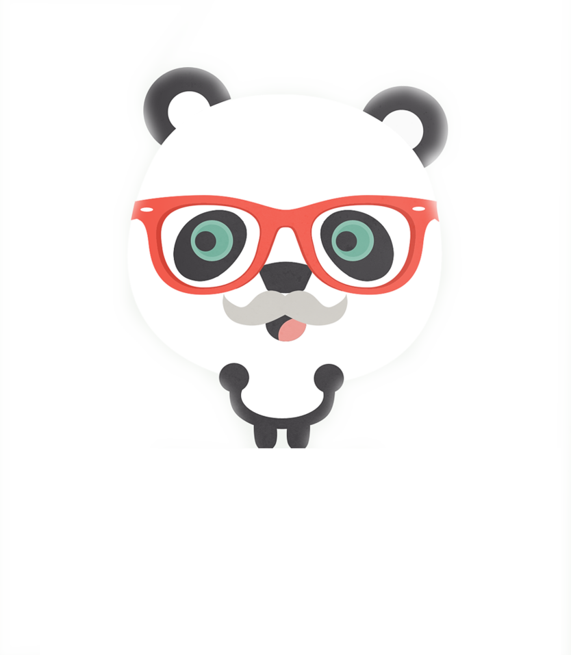 hipster_panda_png_by_geneeditions-d6l49f5