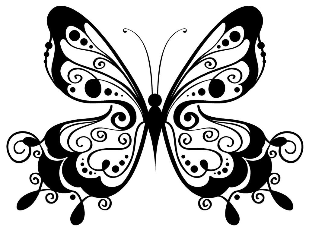 Dibujo De Nacionalidades Para Colorear: Dibujos De Mariposas Para Colorear
