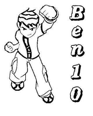 Dibujos de Ben 10 Para Colorear