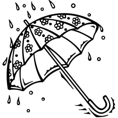 1187-4-dibujo-para-colorear-de-un-paraguas-con-lluvia1