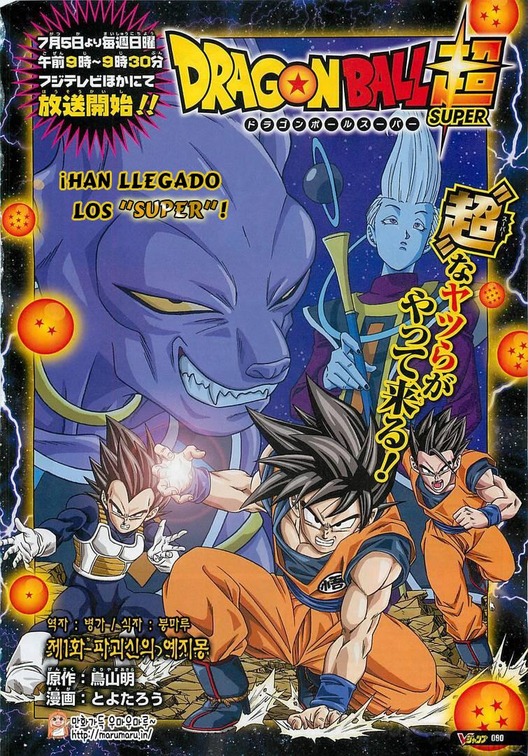 PRIMER CAPITULO DE DRAGON BALL SUPER EN ESPAÑOL