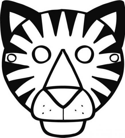 dibujos de tigre para colorear 10