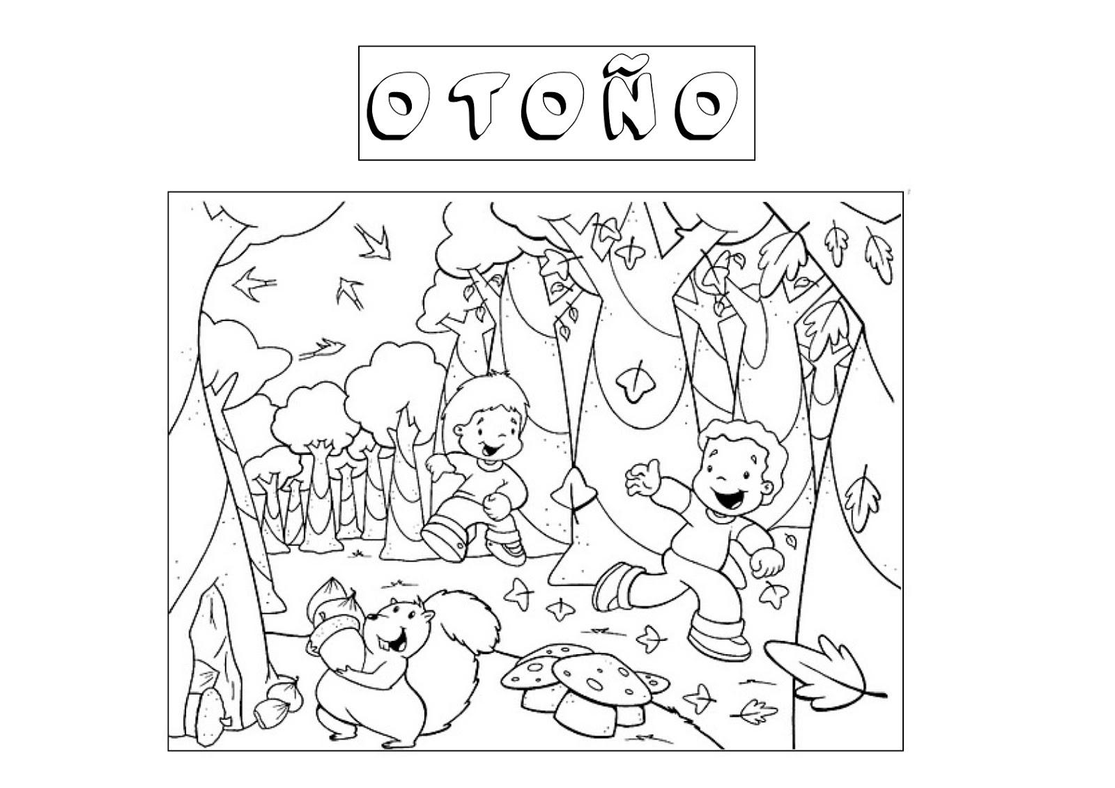 dibujos de oto u00f1o para imprimir