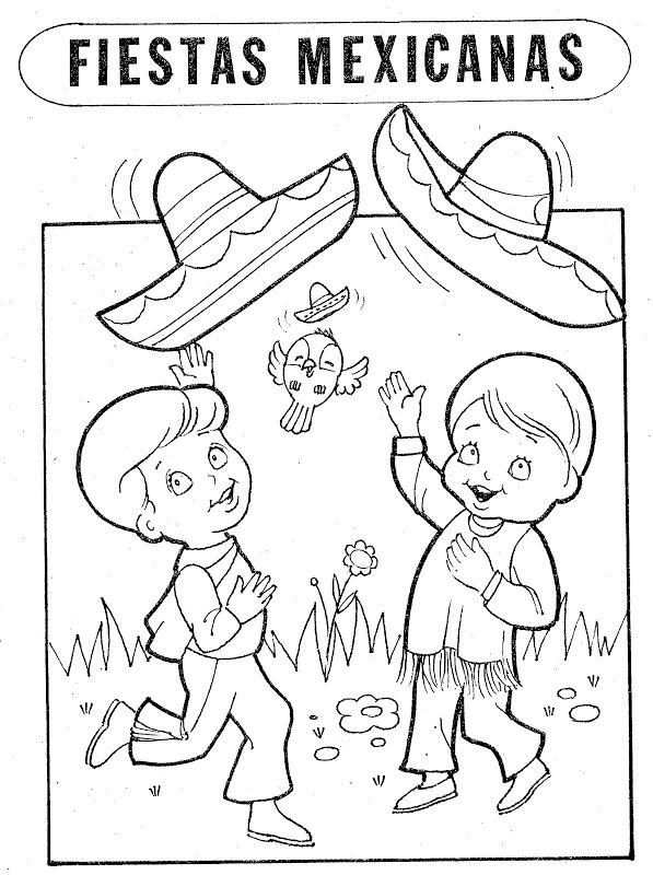 Magn fico septiembre hojas para colorear bosquejo ideas for 16 de septiembre coloring pages