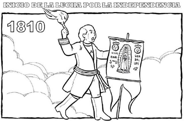 dibujos-para-colorear-de-la-independencia-de-mexico-recopilacion-1