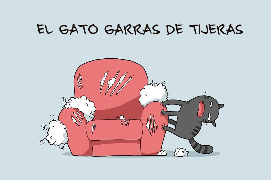 Tipos de Gatos en Caricaturas 4