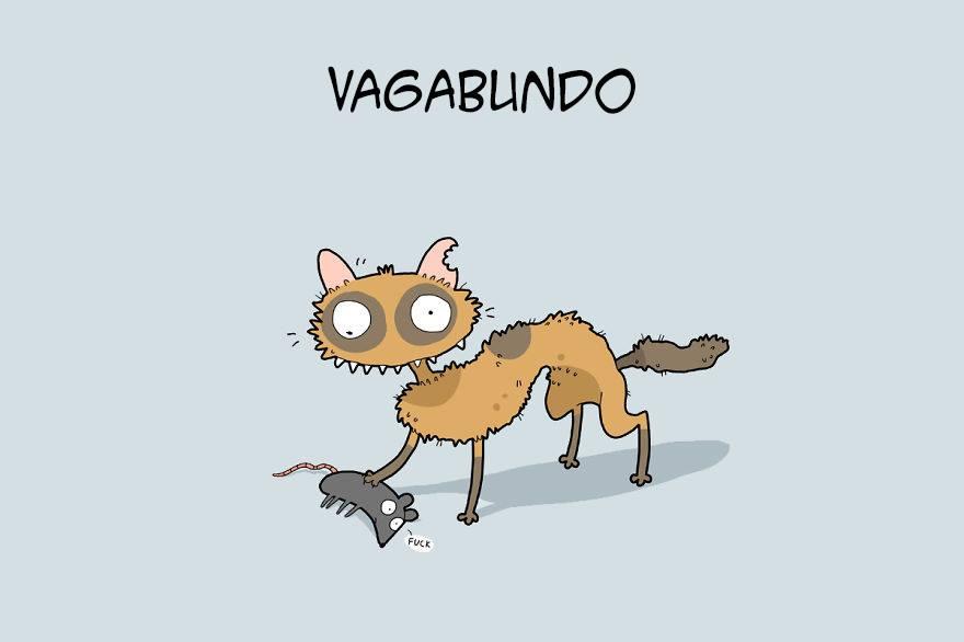 Tipos de Gatos en Caricaturas 9