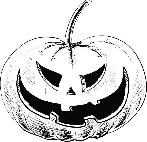 Imagenes de calabazas para halloween - Calabaza halloween para colorear ...