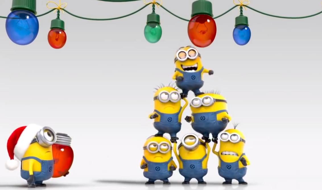 minions navideños para facebook 4