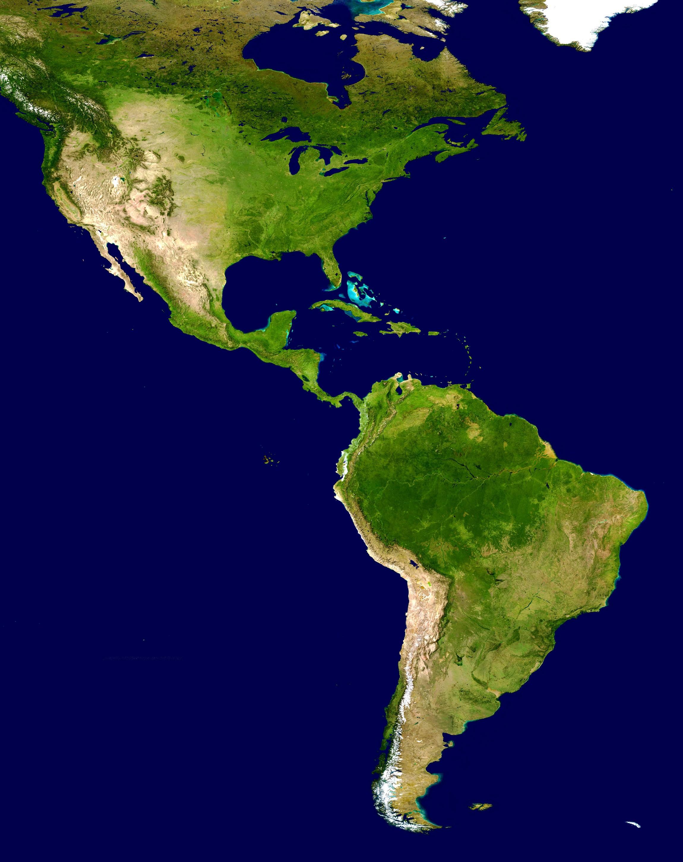Mapa-del-continente-americano-gratis