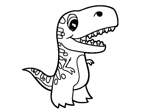 dinosaurio-rex-para-colorear-3