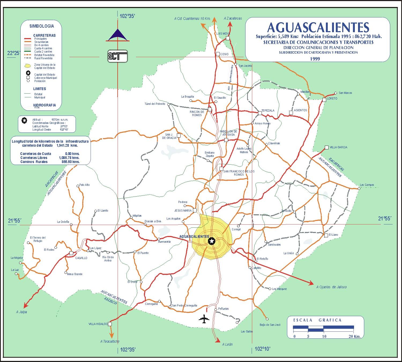mapa-carreteras-aguascalientes