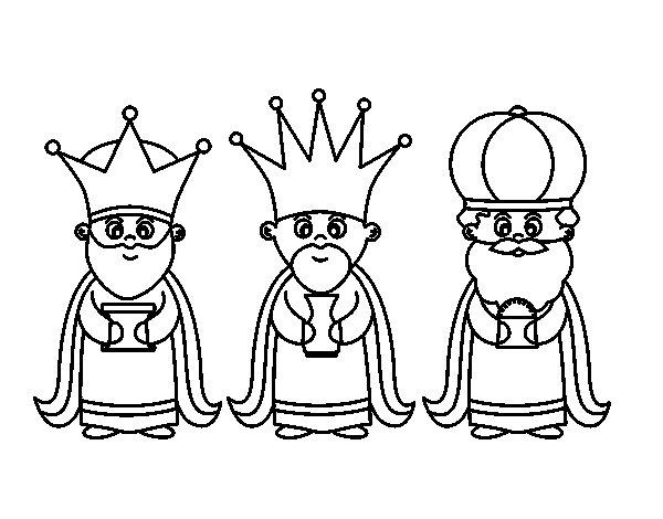 los-3-reyes-magos-colorear