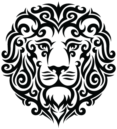 Tribal-Leo-Lion-Tattoo-PNG