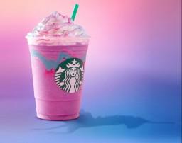Frappuccino unicornio casero