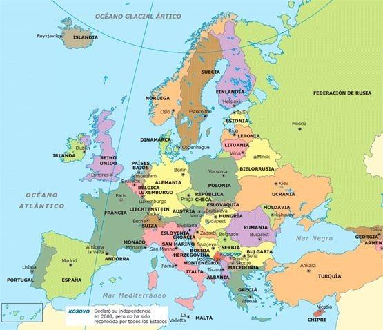 paises-de-europa