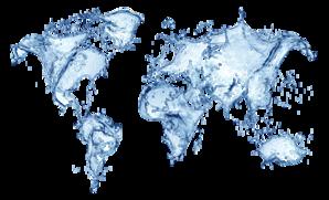 water mapa