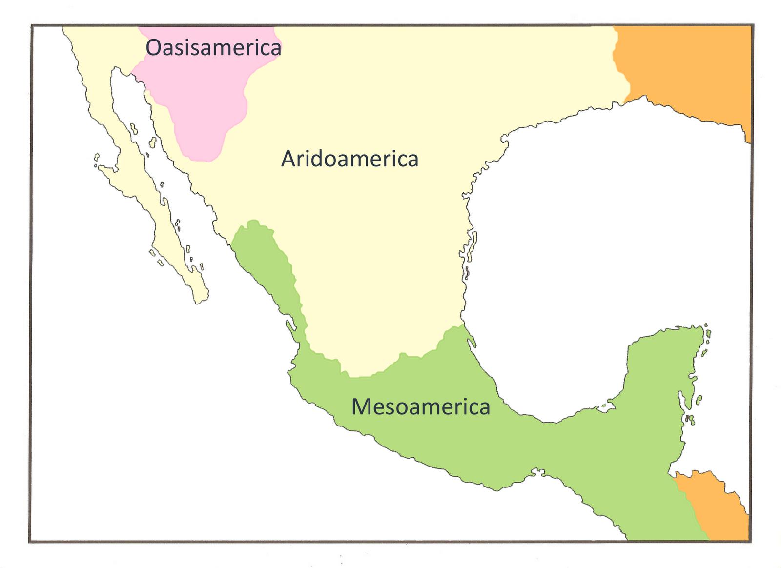 1 Mesoamerica y Aridoamerica