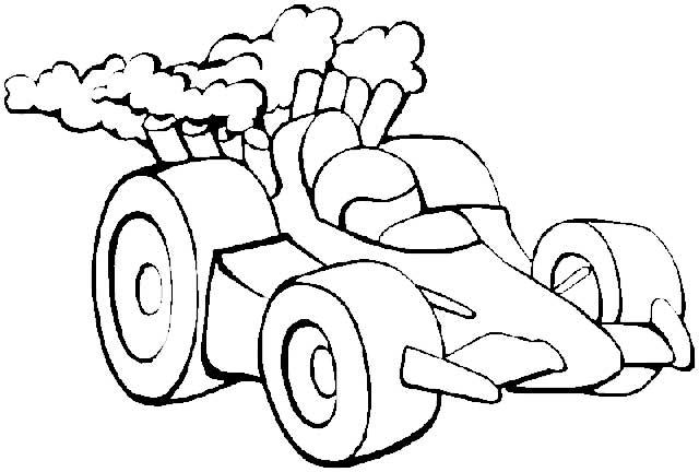 Imagenes De Carros Para Colorear: Dibujos Infantiles