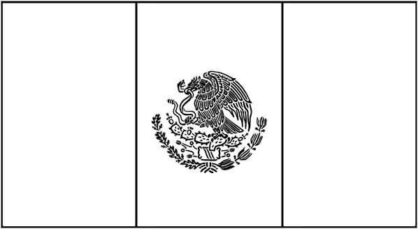 bandera-de-mexico-para-colorear
