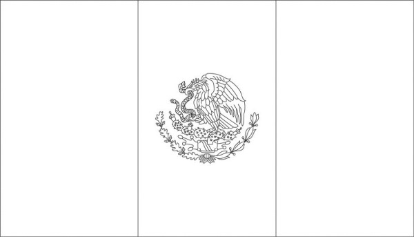 dibujar-bandera-de-mexico