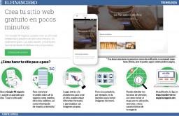 Crea tu Pagina Web gratis con GOOGLE