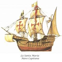 La Santa María carabela
