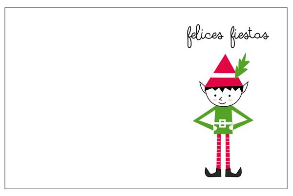 Tarjetas de navidad para imprimir - Dibujos tarjetas navidenas ...