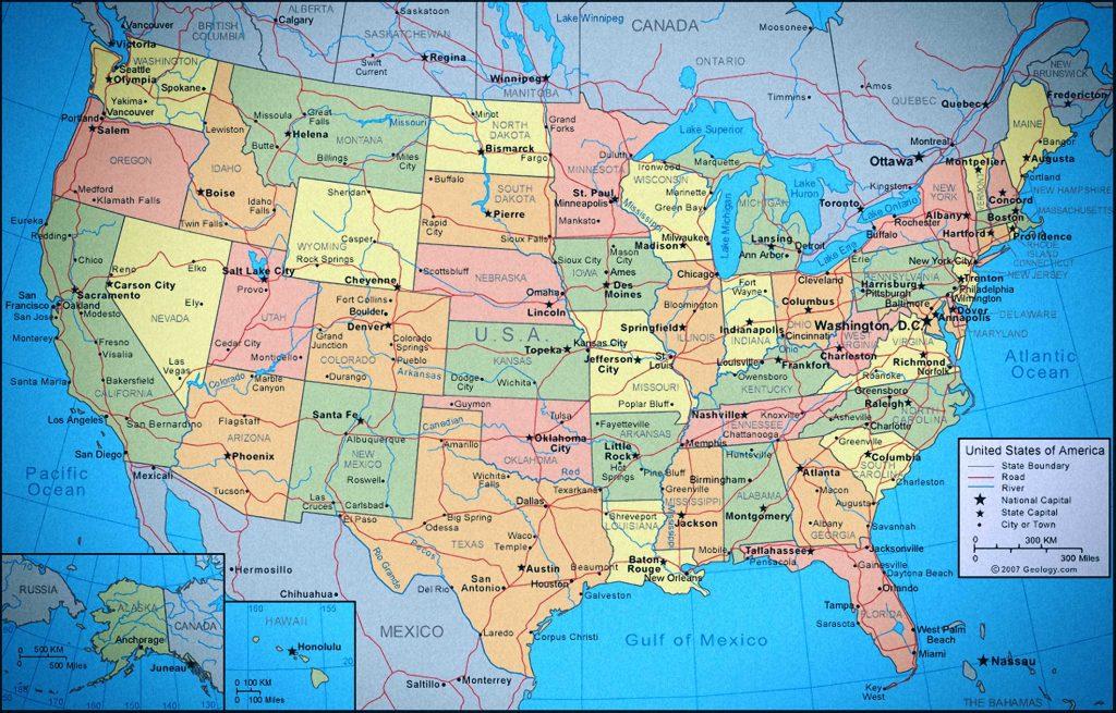 mapa-politico-de-los-estados-unidos