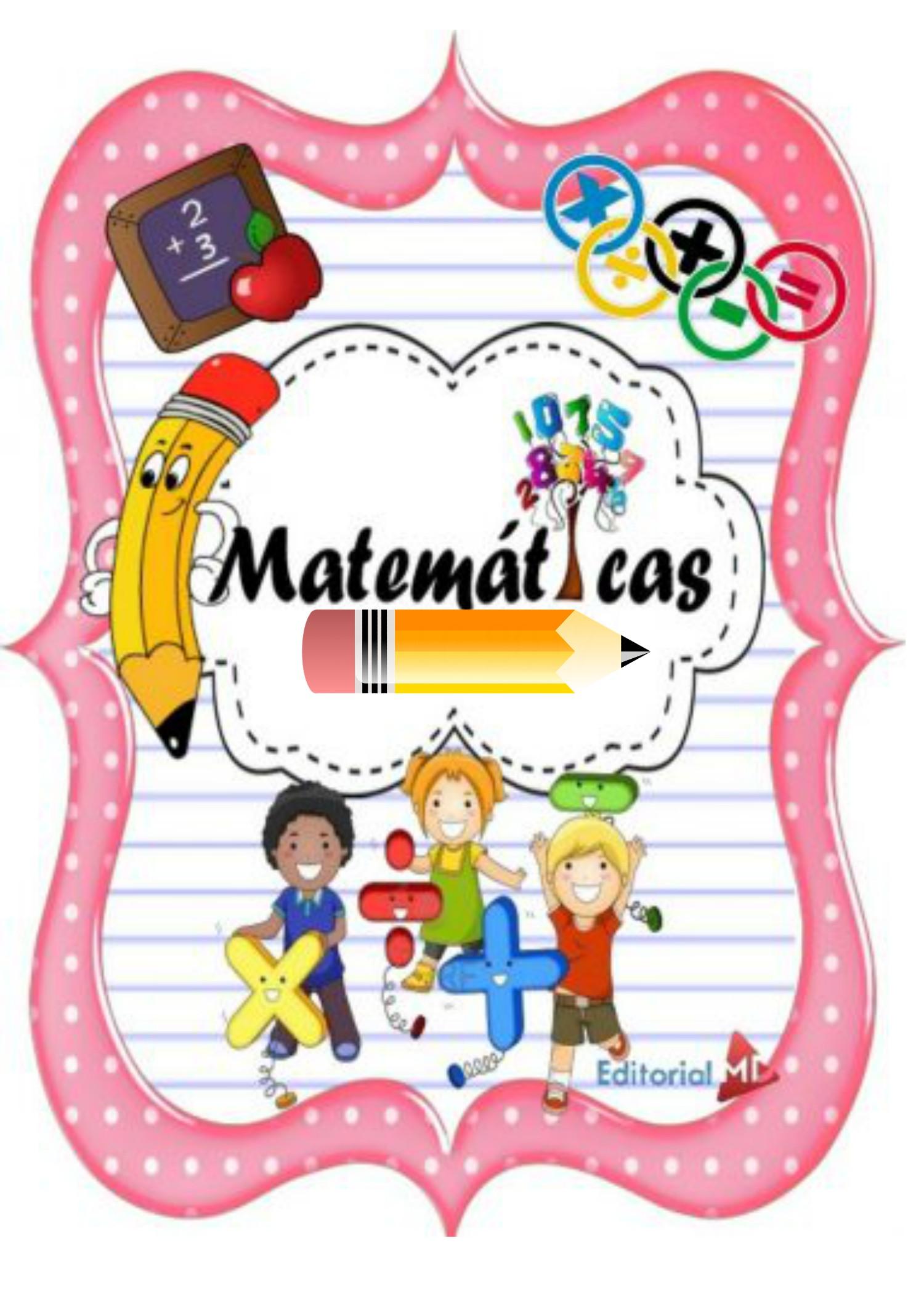 Caratulas de matematicas1