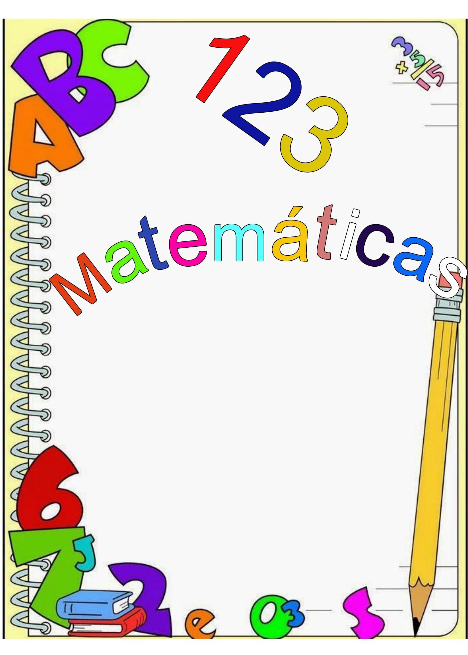 Caratulas de matematicas5