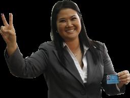 Keiko Fujimori PNG fondo transparente