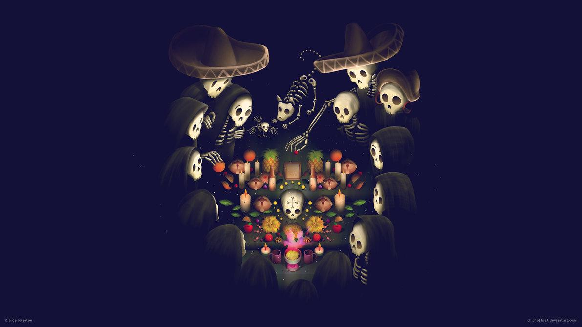 Dia De Muertos Wallpaper