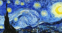 La noche estrellada de Van Gogh (video)