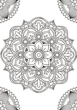 Ideas de mandalas para colorear