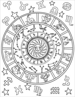 Dibujos del zodiaco para colorear