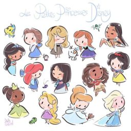 Princesas de disney Mini