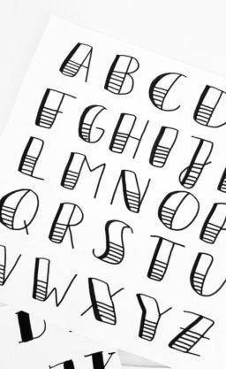 Tipografía de Letras