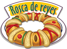 Rosca de Reyes dibujos