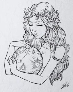 Dibujos de mujer
