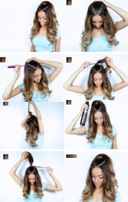Peinados sencillos paso a paso