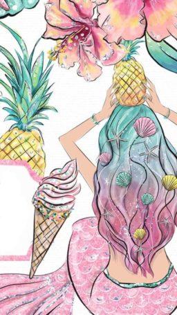 Dibujos en color pastel