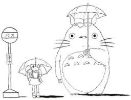 Dibujos de Totoro