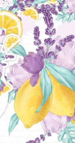 Wallpaper frutales de limon