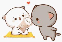 Imagenes de peach cat y goma cat