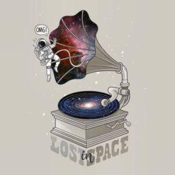 Dibujos de música y espacio exterior