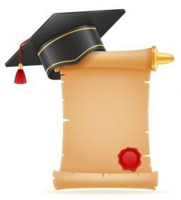 Gorro de graduación, birretes